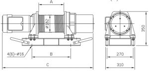 Comeup Grooved Electric Winches CEP1000(S)