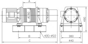 Comeup Grooved Electric Winches CEP3001