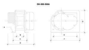 DH500 – DH500A